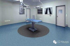 lantai vinyl ruang operasi